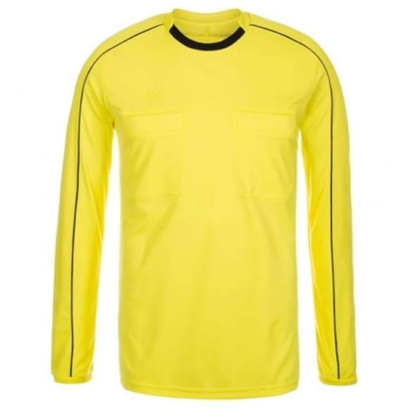 new arrival 1c6fd 43d38 adidas Referee 16 Long Sleeve Soccer Jersey Yellow NWT